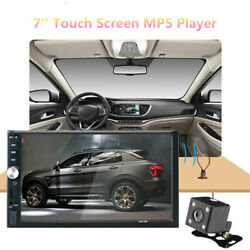 Car Multimedia Player Bluetooth Rearview Mp5 Touch Video Playback Radio Recorder