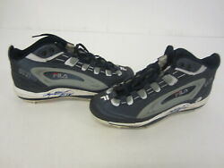 Sammy Sosa Chicago Cubs Signed Game Used Spikes Shoes Sammy Sosa Authentic