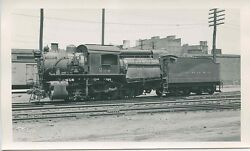 C871 Rp 1940s Crr Of Nj Jersey Central Train Camelback Engine 292