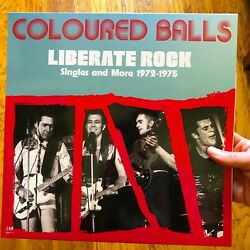 Coloured Balls Liberate Rock Single And More 1972-1975 2 Lp Lobby Loyde New