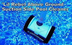 Pentair Lil Rebel Suction Side Above Ground In-ground Swimming Pool Cleaner New