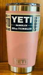 Brand New Authentic Yeti Rambler 20 Oz Tumbler With Magslider Lid Multi-colors