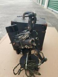 Bell And Howell 16mm Filmo Cinemachinery Movie Projector /case Early Model .