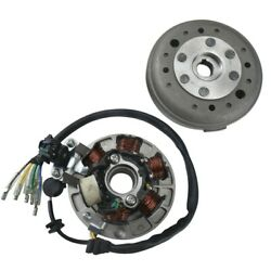6 Coil Magneto Stator Flywheel For Lifan 140cc 125cc Ssr Coolster Dirt Pit Bike