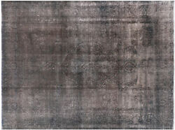 Handmade Overdyed Area Rug 9and039 9 X 13and039 1 - W1403