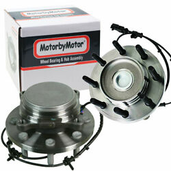 Front Wheel Bearing And Hub Assembly Pair For 2012 2013 Ram 2500 3500 2wd W/abs