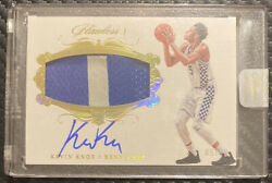 2018-19 Panini Flawless 111 Kevin Knox Rpa Gold 05/10 Andrsquoed To College Jersey
