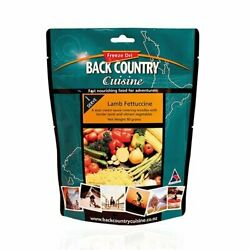 Single Back Country Cuisine Freeze Dried Delicious Outdoor Food Lamb Fettuccine
