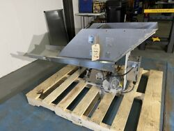 12andrdquo Wide X 40andrdquo Long Eriez Hi-v Vibrating Pan Feeder Stainless Steel