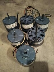 6 Small Electric Motors Universal Electric Owosso Mi .01 To .04 Hp