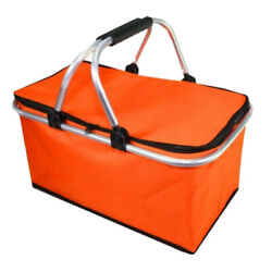 Large Insulated Lunch Bag Waterproof Folding Cooler Tote Bag for Men Women Adult $24.94