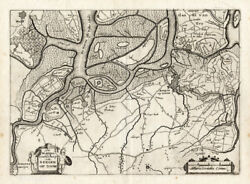 Antique Map-bergen Op Zoom-netherlands-colom-1635
