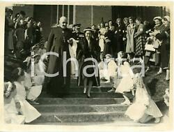 1955 Guildford - Princess Margaret Leaves The Cathedral After The Service Photo