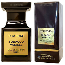 Tom Ford Tobacco Vanille Authentic Original Factory Sealed Edp 30ml 1oz New Usa