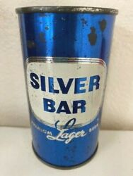 Blue Christmas Silver Bar Flat Top Beer Can Southern Brewing Co Tampa Florida