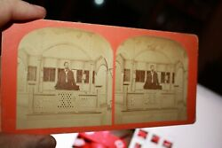 Lot Of Martha's Vineyard Mid 1800's Stereoviews Of The Tabernacle Worship And Area