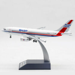 1200 Inflight200 Wardair A310-300 C-giwd Aircraft Model With Stand