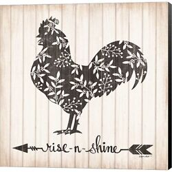 Rise N Shine Rooster By Annie Lapoint Canvas Wall Art