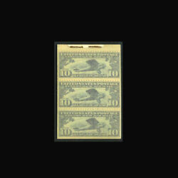 Us Air Mail Stamp-mint Ogandnh, Vf Sc10a Scarce Booklet Pane