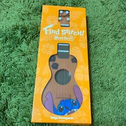 Lilo And Stitch Ukulele Guitar Toy 2007 Collectible Doll Tokyo Disney Land Limited