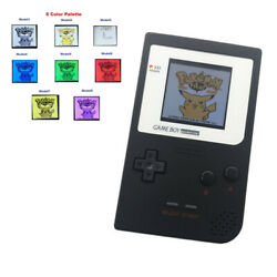 8 Colors Plaette Mode Gbp Console With 5 Segment Lcd Kit W/white Lens -black