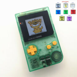 8 Colors Mode Gbp Game Console With 5 Segment Lcd Kit -nightlight Clear Yellow