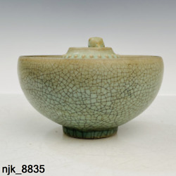 Ancient Chinese Song Dynasty Ru Porcelain Wine Order Justice Cup
