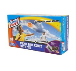 Wham-o Game Time Pickleball Court W/net Paddles And Balls New In Box Ages 5+