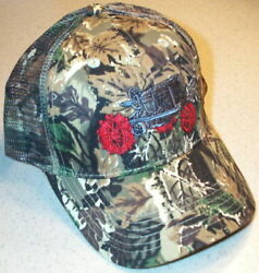 Farmall Regular Tractor Embroidered Camo Hat 2 Types