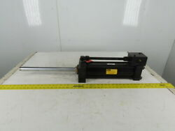 Parker Jj2hxlts13a 3-1/4 Bore 12 Stroke 16 Extended Shaft Hydraulic Cylinder