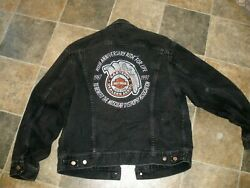 10th Anniversary Ride For Life Muscular Dystrophy Eastern Harley Davidson Jacket