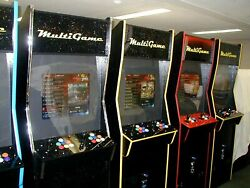 2600 In One Coin Operated Arcade Game Brand New Cabinet / Updated Electronics