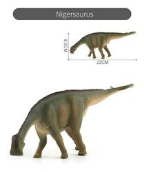 Jurassic Realistic Nigersaurus Dinosaur Figure Model For Kids Dino Toy Gift $10.99