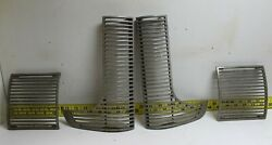New Old Replacement 4 Piece Grille 1939 Oldsmobile Rare B