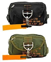 Ac-usa Tactical Parachute Fanny Pack Military Flight Style Camp Hike Bag