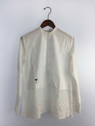 Authentic Second Hand Christian Dior 18Ss Front Tack Blouse Long Sleeve No.31054