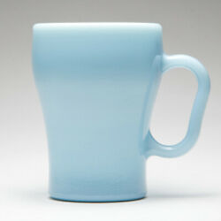 Fire King Soda Mug Cup Milk Glass Turquoise Blue Japan Official Store Limited