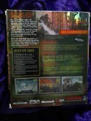 Mech Warrier 3 Big Box Cd Rom Video Game Rated Teen With Manual