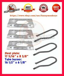 Gas Grill Replacement Parts Heat Plates And Burner Repair Kit For Costco Kirkland