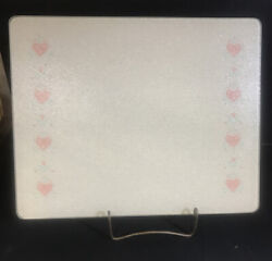 Corning Tempered Glass Counter Saver Board 12x15. Forever Yours