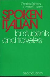 Spoken Italian for Students and Travelers English and Italian Editio $9.23