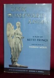 Ketti Frings Look Howard Angel A Play First Edition Hardcover Dj Thomas Wolfe