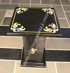 24 Black Buy Online Marble Table Top With Stand Marquetry Design E773