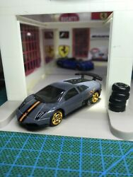 🔴2020 Hot Wheels Custom Lamborghini Murcielago SV With Real Riders $15.89