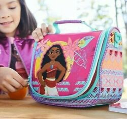 Disney Store Authentic Moana Lunch Box Tote Girls School Bag Princess NWT $16.00