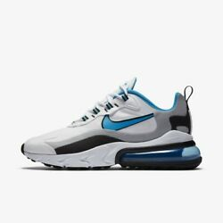 Nike Air Max 270 React - White Blue / Ct1208-101 / Mens Shoes Sneakers