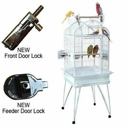 Kings Cages Slt4 2424 Triple Top Parrot Bird Cage Toy Toys African Grey Conure