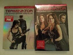 Terminator - The Sarah Connor Chronicles Seasons 1 And 2 Dvds Complete Series