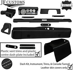 White Stitch Leather Covers For Defender 90 83-06 Interior Upholstery Mid Kit