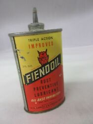 Vintage Advertising Fiendol Household Oil Oiler Tin Collectible 485-h
